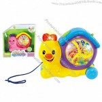 Plastic Baby Toy, Kids Intellectual Toys - B/O Cartoon Music Toy