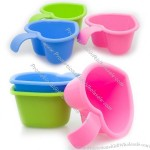 Plastic Bath Water Scoop For Baby