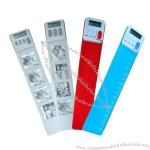 Plastic Bookmark with Ruler
