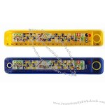 Plastic Boys Pencil Case with Maze Game Ruler