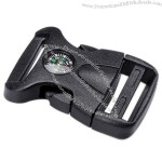 Plastic Buckle with Compass