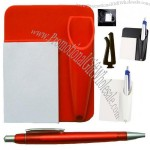 Plastic Car Notepad with Pen Holder