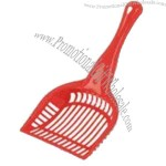 Plastic Cat Litter Scoop, Available in Red, Green and Blue, Measures 28 x 12.5cm