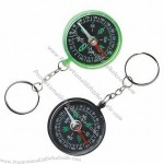 Plastic Compass Key ring