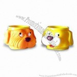 Plastic Cup with Dog Cover