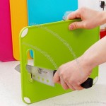 Plastic Cutting Board with Whetstone