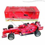 Plastic Friction Dormular Car, F1 Racing Car Toys for Children, Nontoxic Material and CE Passed