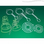 Plastic Hangers For Infusion Glass Bottles