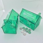 Plastic House Piggy Bank