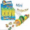 Plastic Mini Projector Toy Candy, Toy Torch with Candy