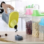 Plastic Nuts Grains Canister