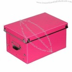 Plastic Shoe Storage Box, Made of PP, Foldable and Flat Packing