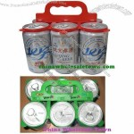 Plastic Six Beverage or Beer Can Holder