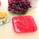 Plastic Square Candy and Fruit Tray