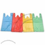 Plastic T-shirt Bag with Handle Style