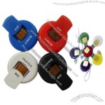 Plastic USB Flash Drive with Different Color Available and Logo Offered