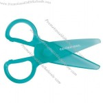"Plastic ""Won't Cut Hair"" Scissors"