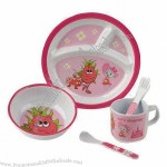 Plate/Dish Set, Made of Melamine Material