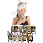 Plush Animal Hat - Unisex - Perfect Gift for Him or Her