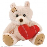 Plush Bears With Heart
