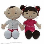 Plush Dolls with 100% PP Cotton Filling