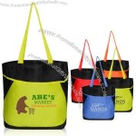 Pocket Curve Tote Bags