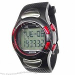 Polar Heart Rate Monitor Watch with 3D Pedometer and Clock Functions
