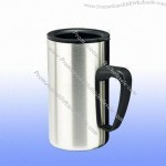 Polished Stainless Steel Coffee Cup