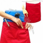 Polycotton Half-Length/Waist Apron with Pocket