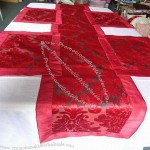 Polyester Jacquard Table Runner