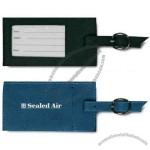 Polyester Luggage Tag With Clear Window To Show Card Insert
