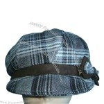 Polyester women's fashionable cap.