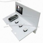 POP Acrylic Cellphone Display Stand with LCD Video Screen