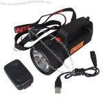 Portable 5W Rechargeable Explosion Proof &Water Proof LED Spotlight Powerful Searchlight