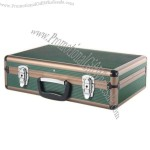 Portable Aluminum Tool Case with Tool Bag and 6 Storage Compartments