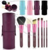 Portable Barrelled 7 pcs Makeup Brushes & Tools Eyeshadow Brushes Set Cosmetics Brushes