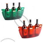 Portable Clear Tin Party Bucket