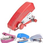 Portable Cordless Mini Handy Hand-Held Clothes Fabric Sartorius Sewing Machine Domestic Household Products for Craft