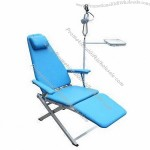 Portable Dental Chair, One Operating Light and One Instrument Tray