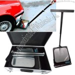 Portable Folded Under Vehicle Search Mirror