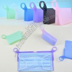 Portable Folding Silicone Face Mask Storage Clip Folder