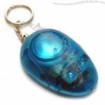Portable Keychain with Personal Alarm and Light