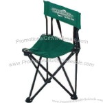 Portable, lightweight folding, triangle seat caddie chair