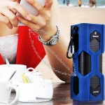 Portable NFC Bluetooth Speaker with Innovative Waterproof and Shock Resistant Design