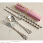 Portable Stainless Steel Flatware