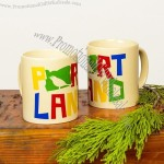 Portland Colorful Bird Coffee Mug