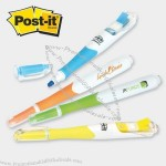 Post-it® Flag+ Contour Highlighter W/50 Flags (3 & 4 Color)