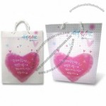PP Gift Bag in CMYK Colors with UV Offset Printing