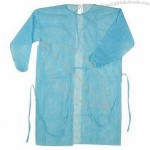 PP Isolation Gown, made of 17-35g PP
