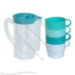 PP Travel Plastic Cup Set